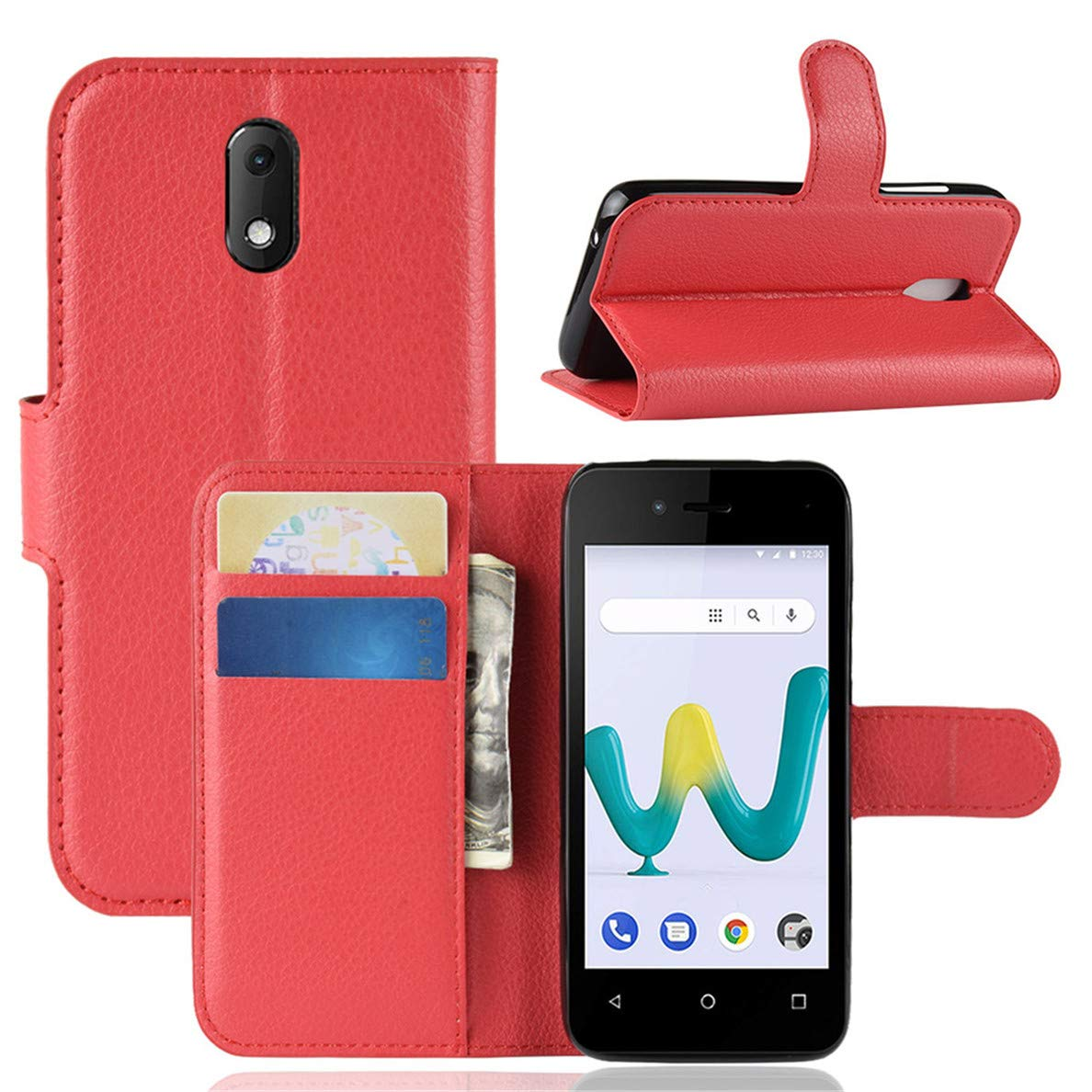 Amazon com: Hfly for Wiko Sunny 3 Mini Case, Classic Case for Wiko