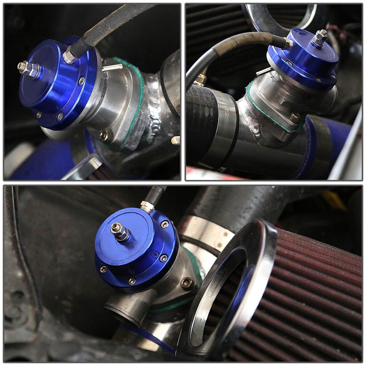 Blue Type-S Style Universal 40-mm Turbo /& Intercooler Blow off Valve