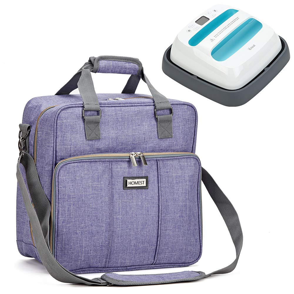 HOMEST Heat Press Machines Storage Bag, Compatible with Cricut 9x9'' Easy Press 2, Purple (Patent Pending) by HOMEST