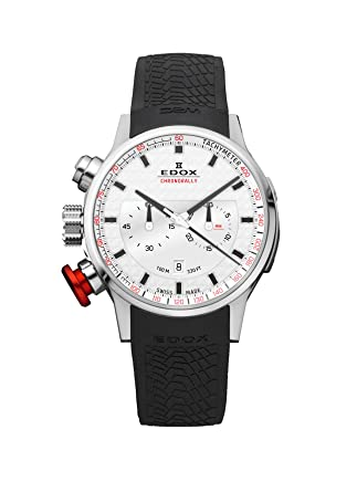 383340f02 Amazon.com: Edox Men's 10302 3 AIN Chronorally Analog Display Swiss Quartz  Black Watch: Watches