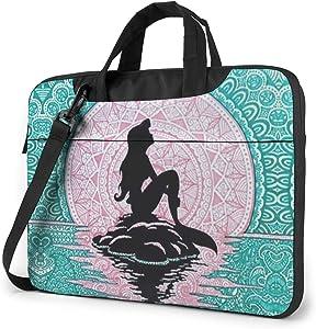 15.6 Inch Laptop Bag The Little Mermaid Laptop Briefcase Shoulder Messenger Bag Case Sleeve
