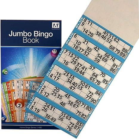 Unbranded Jumbo Bingo BTZ/5 - Juego recreativo de Mesa (6 Juegos ...