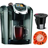 Keurig K545 Plus, Coffee Maker Single Serve 2.0 Brewing System, Exclusive Offer Includes 2.0 Brewer Top Needle Cleaning Maintenance Accessory, + My K-Cup Reusable Coffee Filter, (Updated Model)