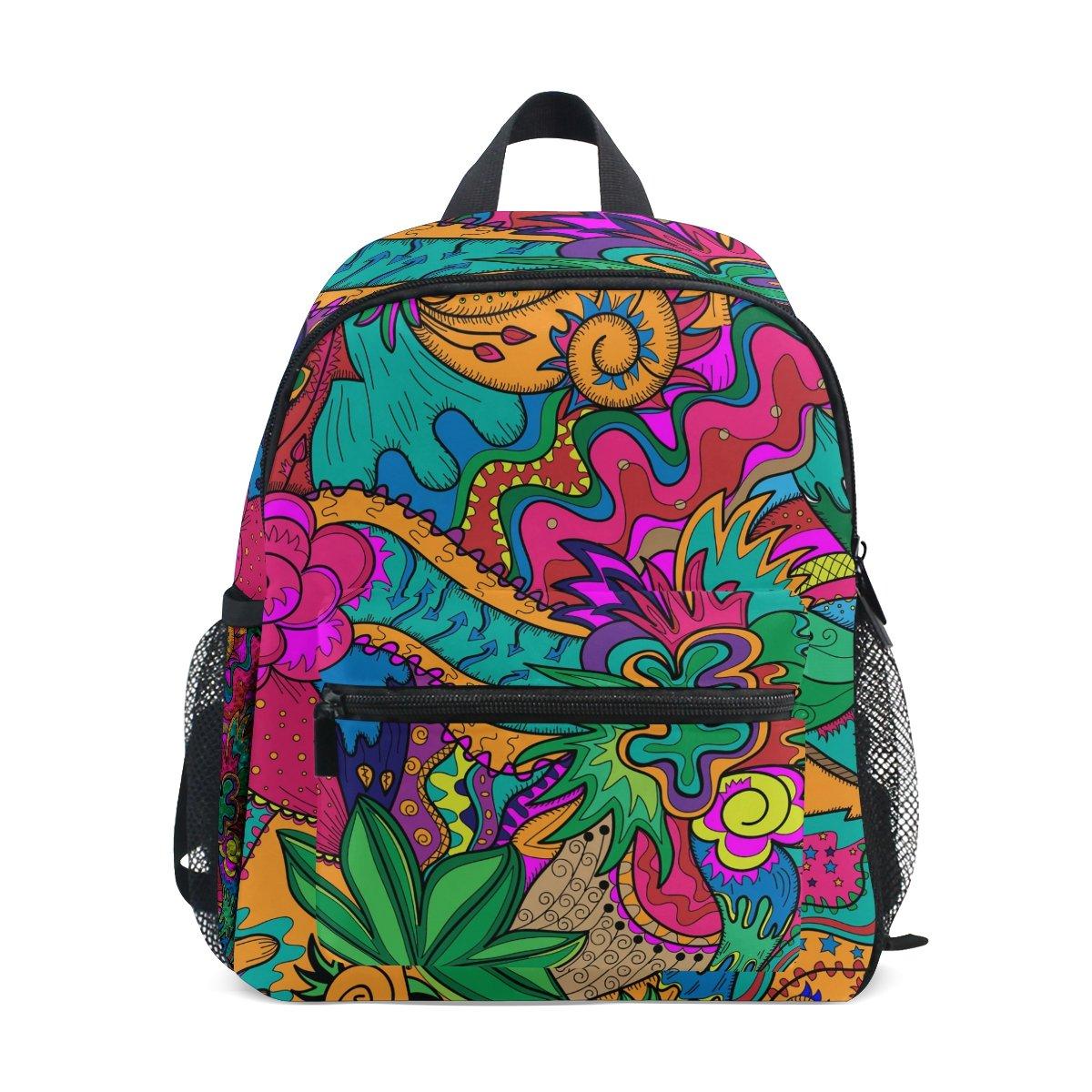COOSUN Hippie Dibujo Favoritos como Kinder Stoner Arte Mini Mochila Kids Pre-Escolar del niño Bolsa: Amazon.es: Equipaje