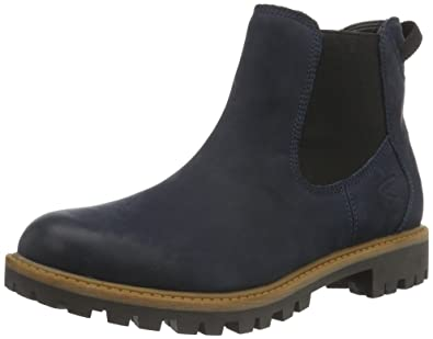 Tamaris Damen 25401 Chelsea Boots, Blau (Navy), 38 EU
