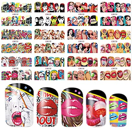 Amazon.com: Leo-4Beauty - 12 Designs In 1 Set Nail Art Cute ... on at home guitar room, at home spa, at home art, at home color, at home halloween costume ideas, at home hair extensions, at home makeup, at home pink, at home tattoos, at home microdermabrasion, at home accessories, at home tips, at home waxing, at home christmas, at home straightening, at home diy, at home fake nails, at home acrylics, at home highlights, at home clothes,