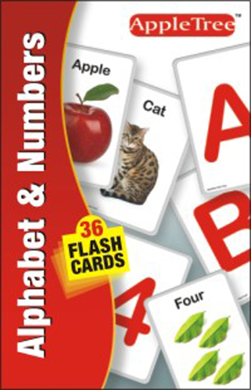 Flash Card: Alphabet & Numbers