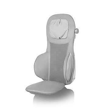 Medisana MC 825 Cojín de masaje Shiatsu, masaje con acupresión y función de masaje por puntos, masaje de cuello, función calor, 3 intensidades, con ...
