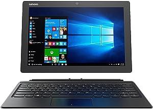 Lenovo Miix 510 Touchscreen 12.2-Inch Full HD (1920x1200) Performance 2-in-1 Laptop ,Intel Dual-Core i5-7200U Processor,8GB RAM,256GB SSD,WiFi,Bluetooth,Windows 10