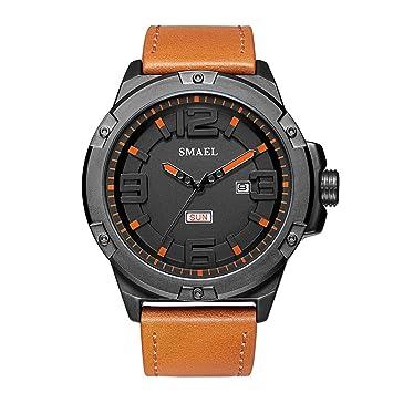 Blisfille Reloj de Jardin Relojes Quartz Hombre Reloj Junior Reloj con Notificaciones Reloj Acero Inoxidable Mujer: Amazon.es: Deportes y aire libre