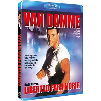 Libertad Para Morir BD 1985 Death Warrant [Blu-ray]