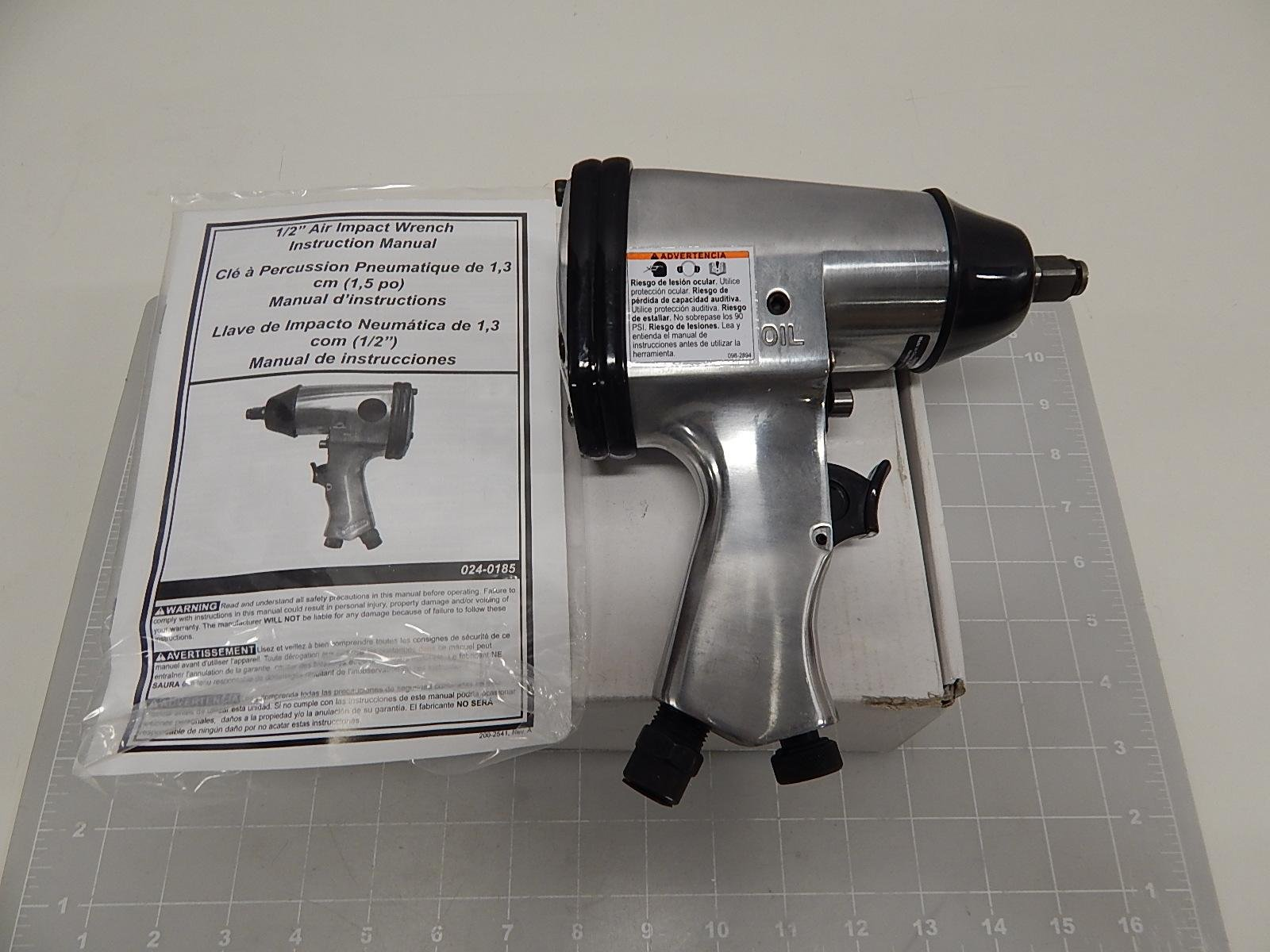 024-0185 1/2'' AIR IMPACT WRENCH T60255