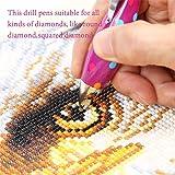 SanerDirect 2pcs 5D Diamond Painting Drill Pen