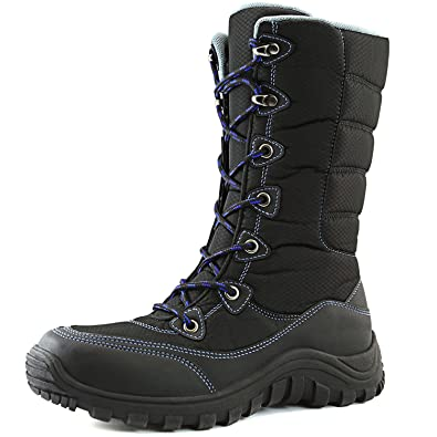Women's Warm Outdoor Hiking Mid Calf Ankle Snow Boots