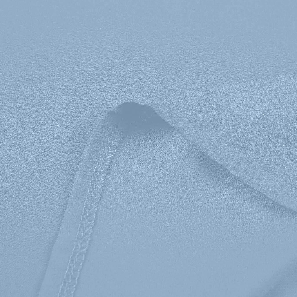 Sin Mangas Vamoro Camisas para Mujer Cuello en V C/óctel
