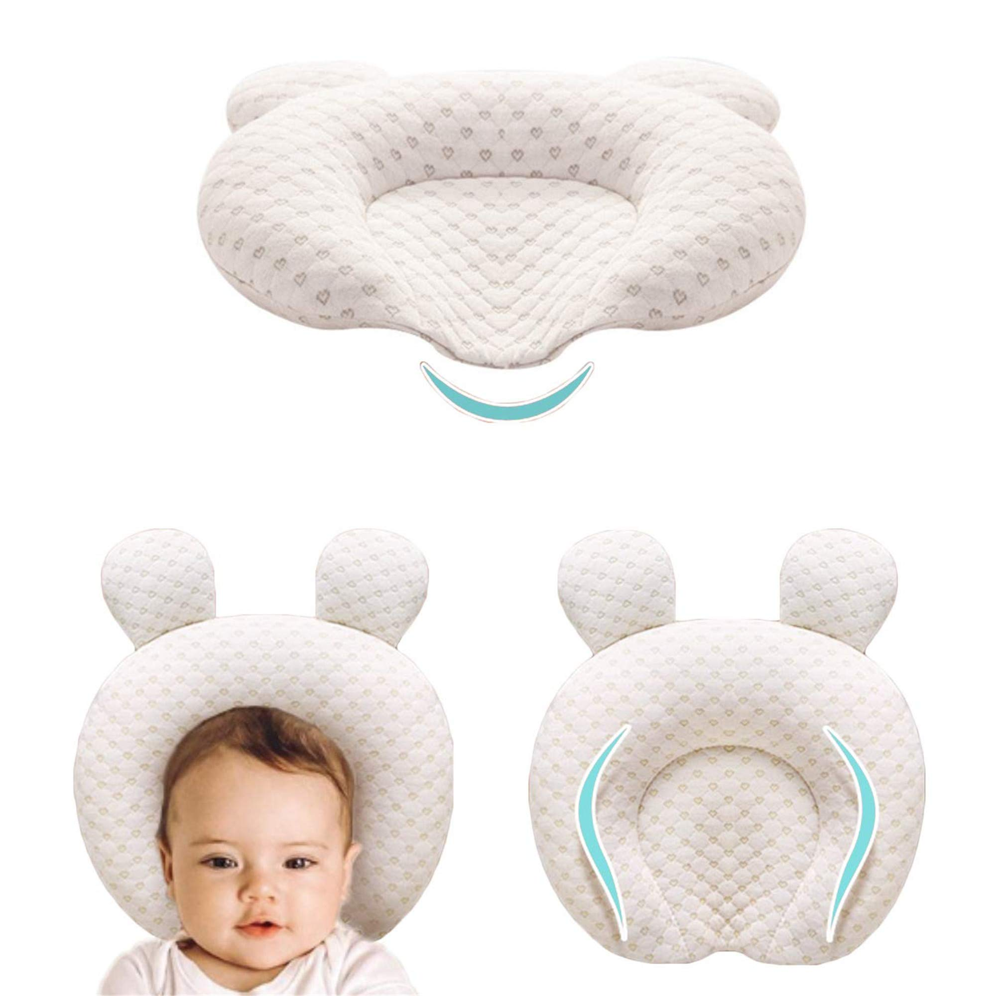 xmwealthy infant support head pillows