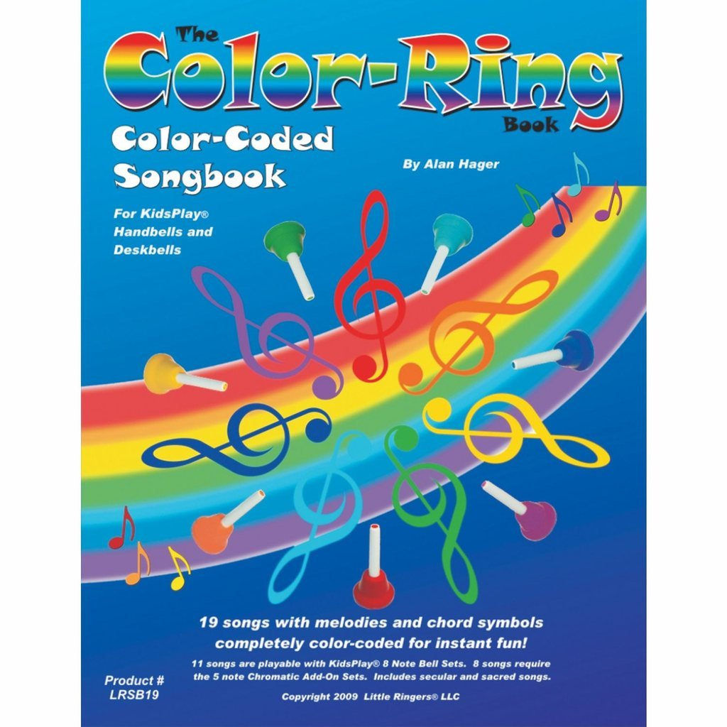 Hager Color-Ring Song Book (19 Songs; All Ages) by Westco