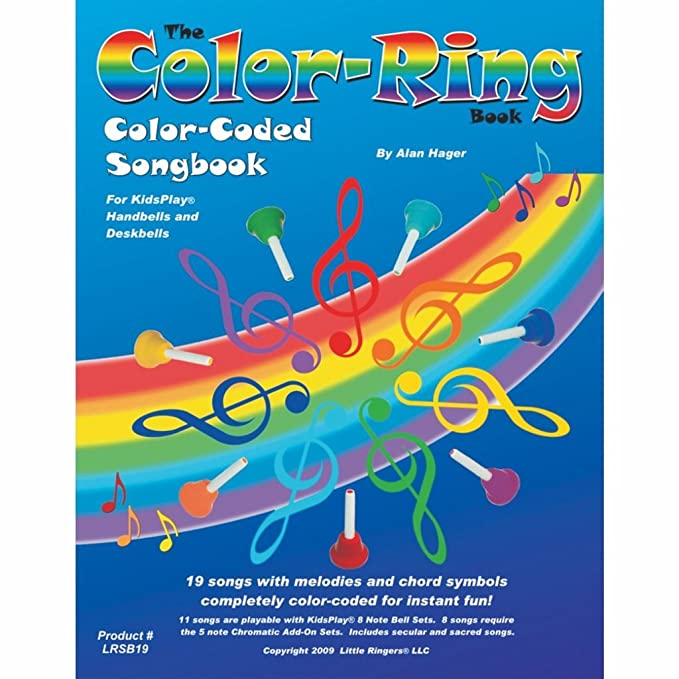 Amazon.com: Hager Color-Ring Song Book (19 Songs; All Ages): Toys ...