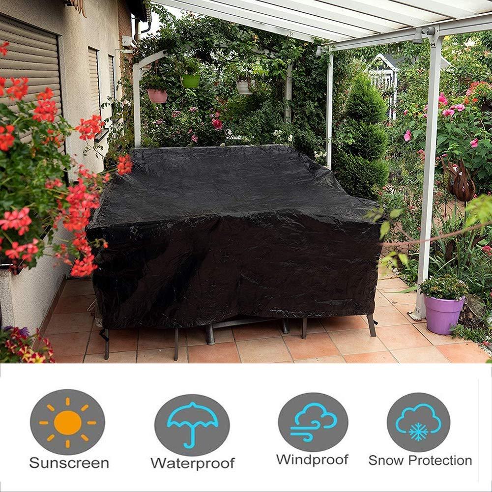 GGYMEI- Funda Protectora Muebles Jardín Cubo Impermeable Muebles ...