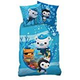 The Octonauts - Reversible Duvet Set Flannel 80/80 x 135/200cm