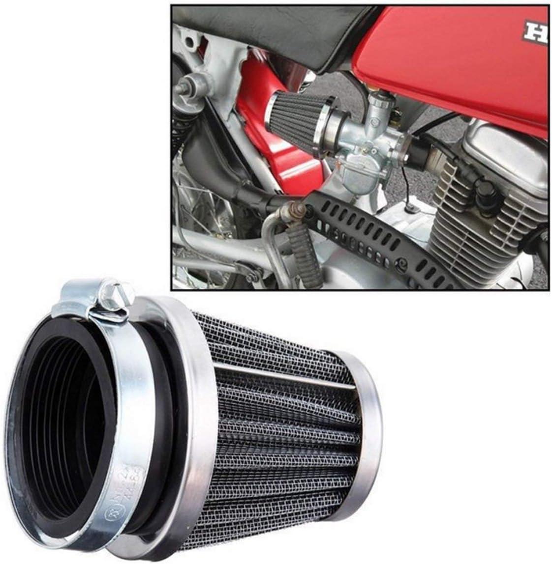 Universelle 54mm moto champignon t/ête filtre /à air pince sur filtre /à air nettoyant pour Honda pour Yamaha