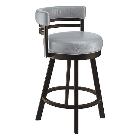 Swell Amazon Com Taylor Gray Home Lincoln Metal Swivel Barstool Theyellowbook Wood Chair Design Ideas Theyellowbookinfo