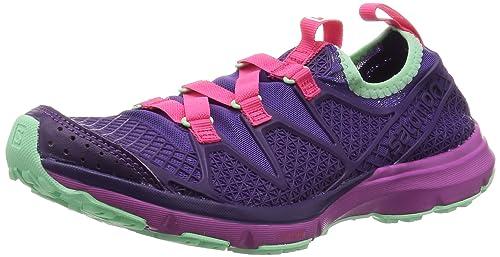 7926b668f141 Salomon Crossamphibian Water Shoe - Women s Azurin Blue Cobalt Mystic Purple  ...