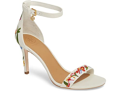 78e1f86adf3 Image Unavailable. Image not available for. Color  Tory Burch Ellie  Ankle-Strap Sandal ...