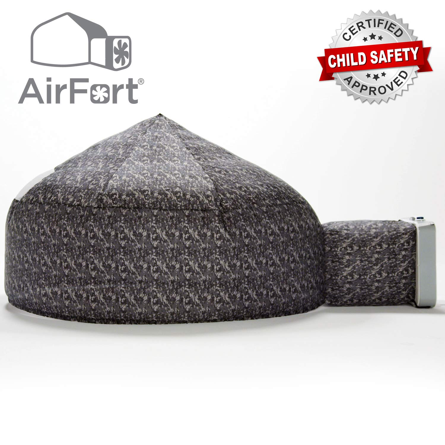 The Original AirFort Build A Fort in 30 Seconds, Inflatable for Kids, Digital Camo by Air Fort