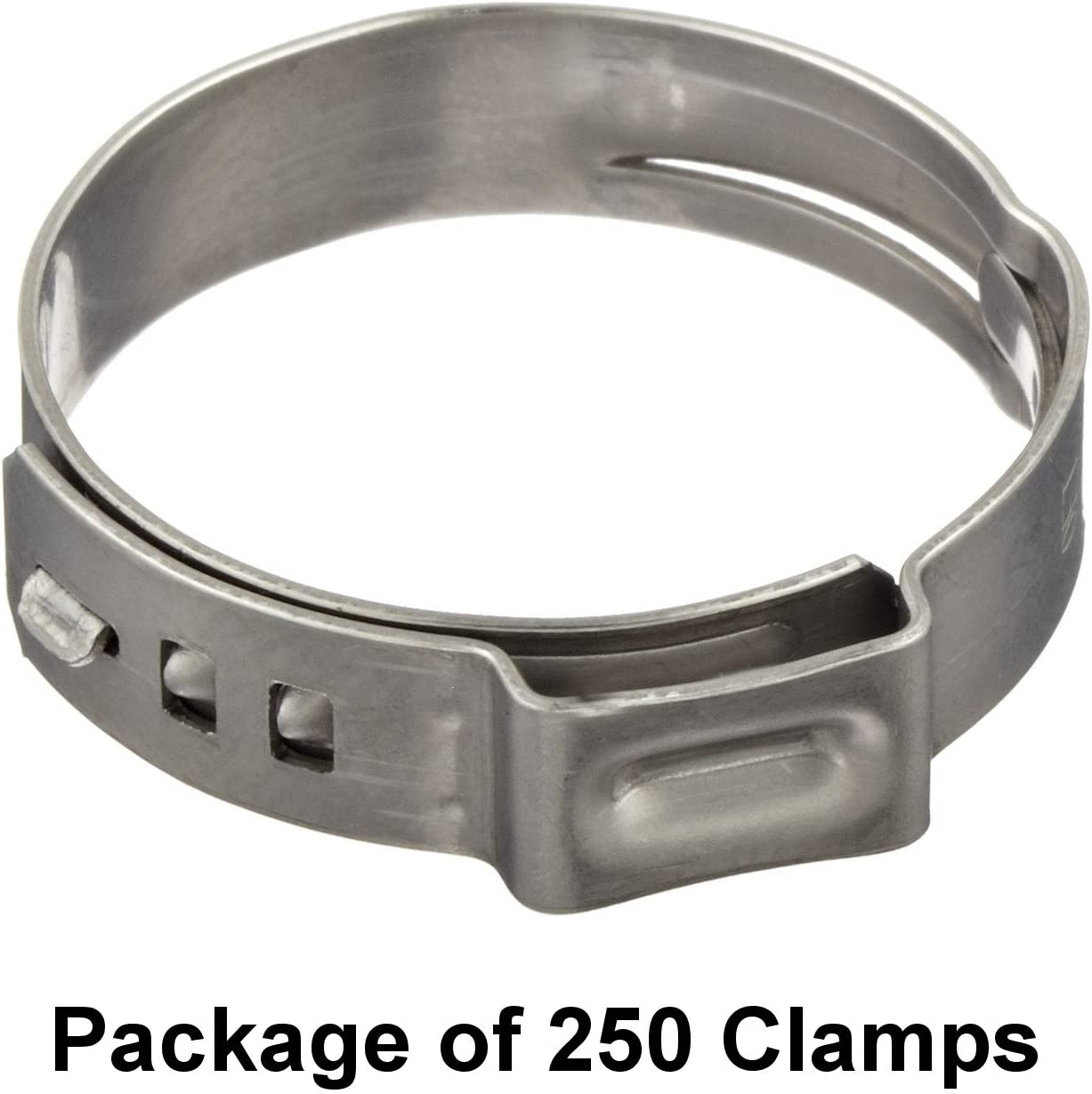 Single Ear Hose Clamps 500 Oetiker Stepless Ear Clamps Size 9//16 7 Pack Sizes Available 14.5 mm