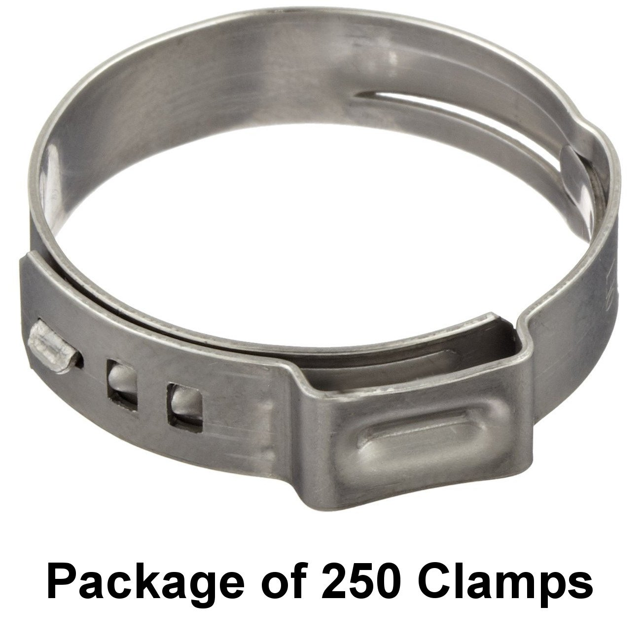 250 7 Pack Sizes Available Size 11//32 Single Ear Hose Clamps Oetiker Stepless/® Ear Clamps 8.7 mm