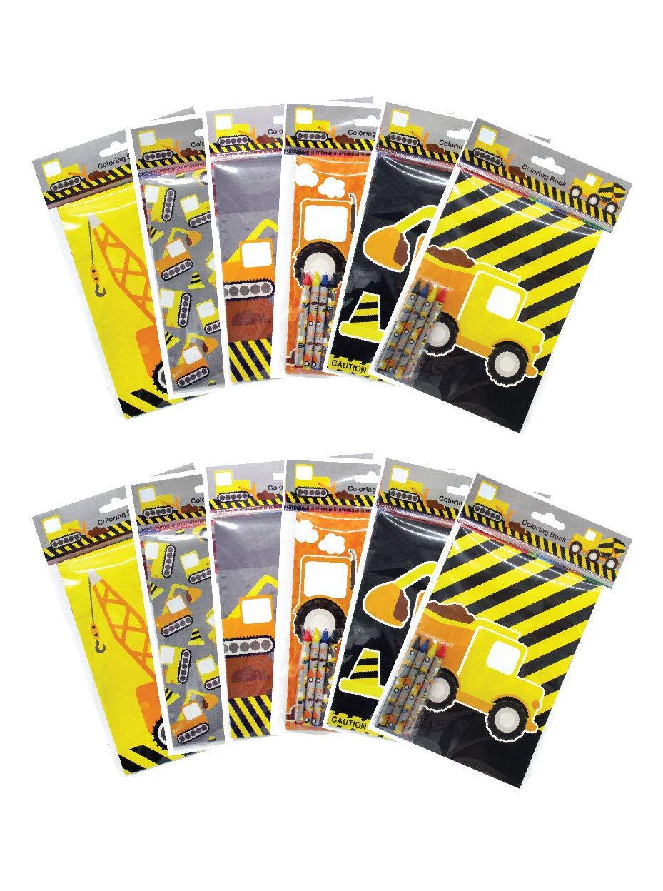 Amazon.com: Cuaderno para colorear con diseño de camiones de ...