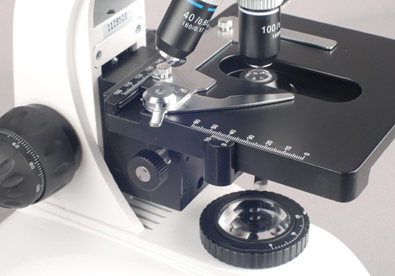 AmScope T530A 40X-1600X Laboratorio Microscopio biol-gico ...