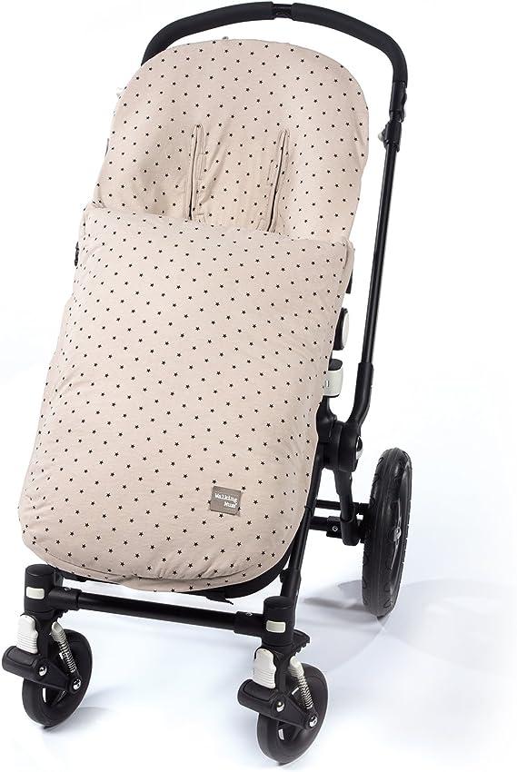 Walking Mum Gaby color piedra Colchoneta para silla de paseo