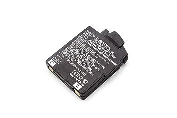 vhbw Litio Polímero Batería 270mAh (3.7V) para Auriculares inalámbricos Cascos Sennheiser 450 Travel