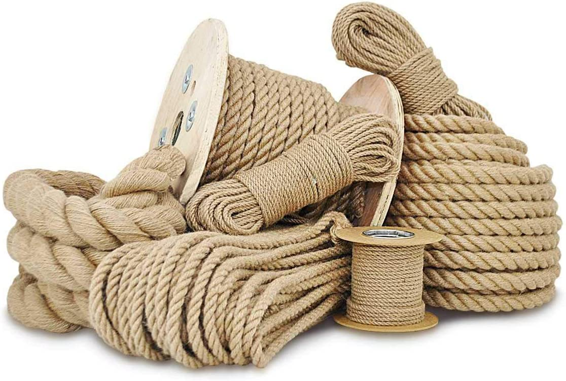 Seilwerk STANKE Cuerda de Goma Amarilla 4 mm 20 m Cuerda de goma Cuerda de tensi/ón Cuerda de caucho