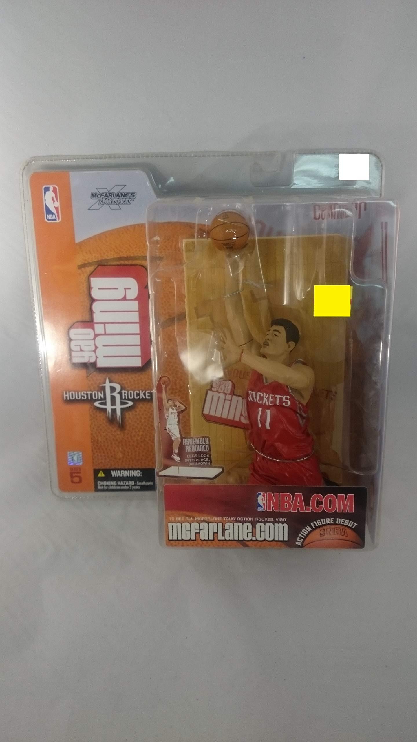 2003 Yao Ming McFarlane Action Figure Debut NBA Series 5 Houston Rockets Variant