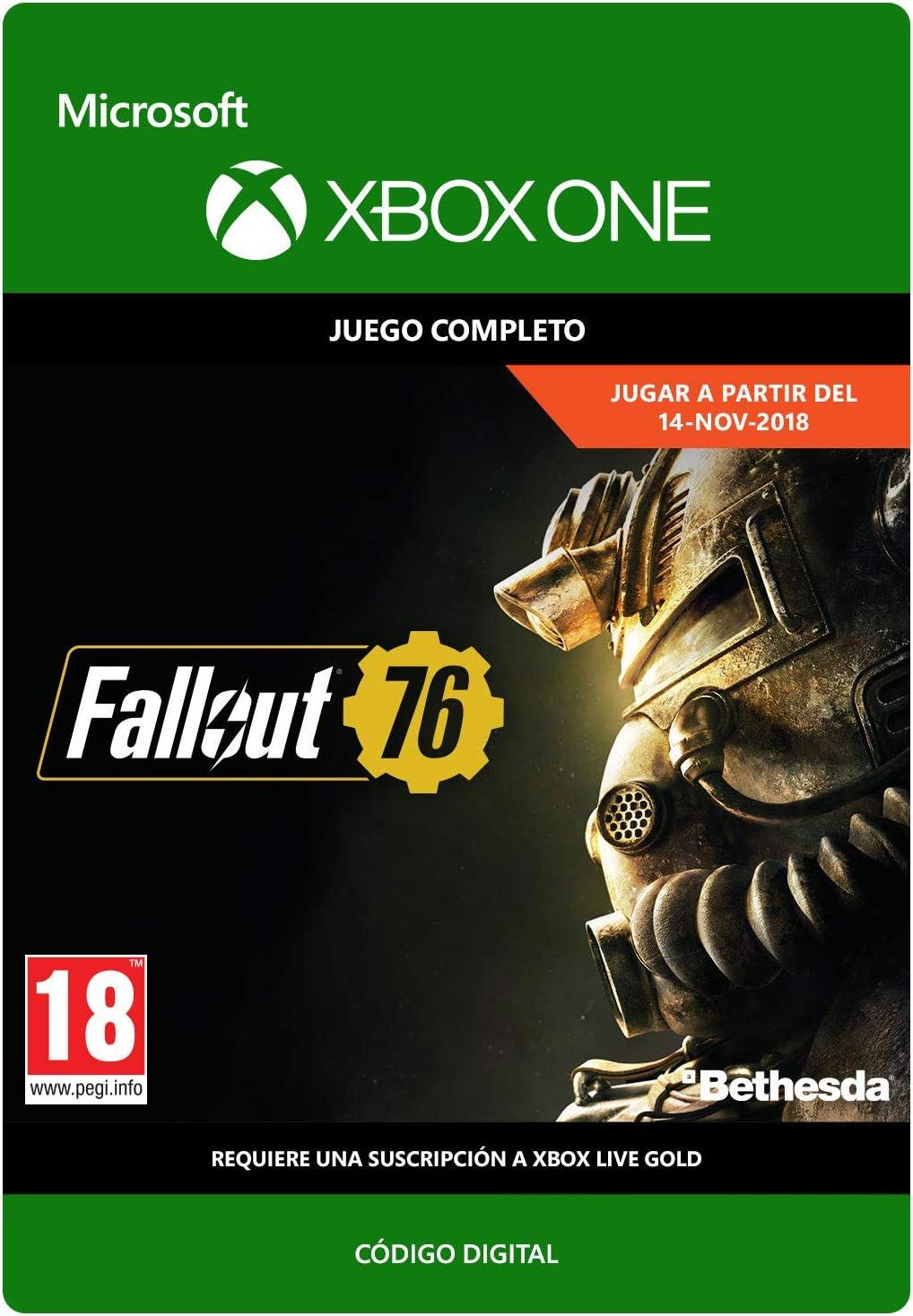 Fallout 76 | Xbox One - Código de descarga: Amazon.es: Videojuegos