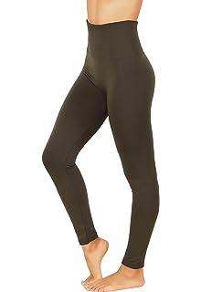 8287d4e2e1025 Fit Division Women`s Pants Buttery Soft Fleece Leggings High Waist Winter