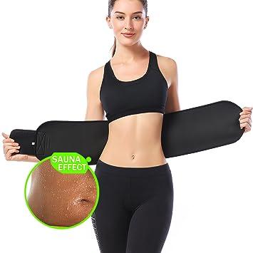Amazon.com: KOOCHY Cinturón de adelgazamiento para cortar la ...