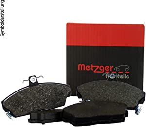 Metzger Disc Brake Pad Set Front For ALFA ROMEO Giulietta 940 10-77365355
