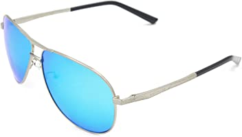 3dc1af418d VEITHDIA 2556 Premium Metal Frame Polarized Aviator Sunglasses 100% UV  Protection
