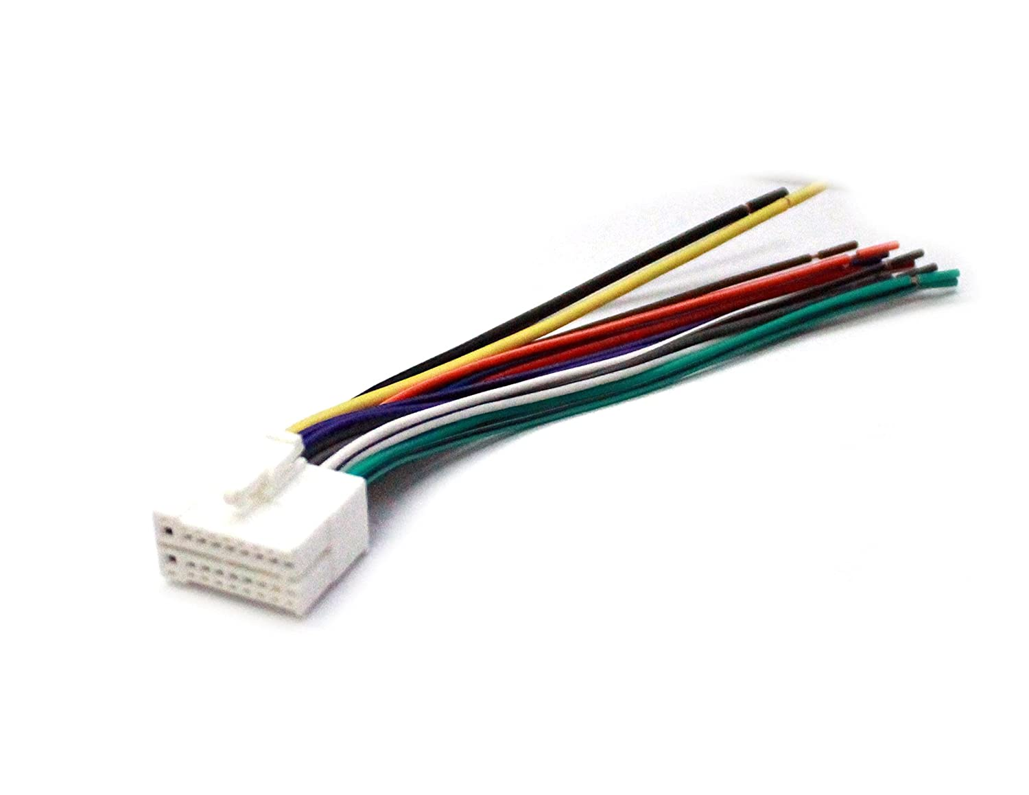 Amazon.com : American Terminal AFCL1800 Universal 18 Pin Plug for Clarion,  White : Car Electronics