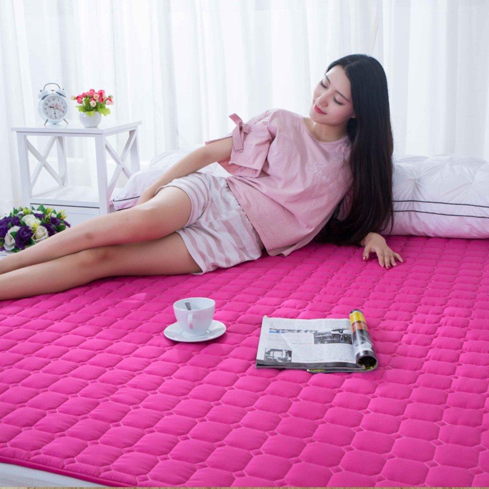 Folding Mattress/Tatami Mattress/[Double], [Individual], Dormitory Floor/Sleeping pad/Mattress-A 90x200cm(35x79inch) KSTQRAGHD
