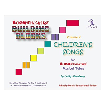 Boomwhackers BV2T Building Blocks Children's Songs CD Volume 2: Boomwhackers: Musical Instruments
