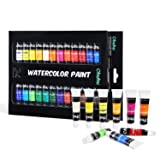 Watercolor Paint Tubes, 24 Water Colors Ohuhu Art