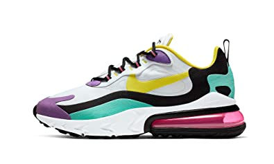 quality design cd463 8d800 Amazon.com | Nike Air Max 270 (White/Dynamic Yellow-Black ...