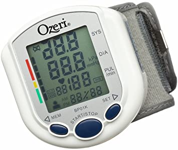 Ozeri CardioTech Pro Series Digital Blood Pressure Monitor