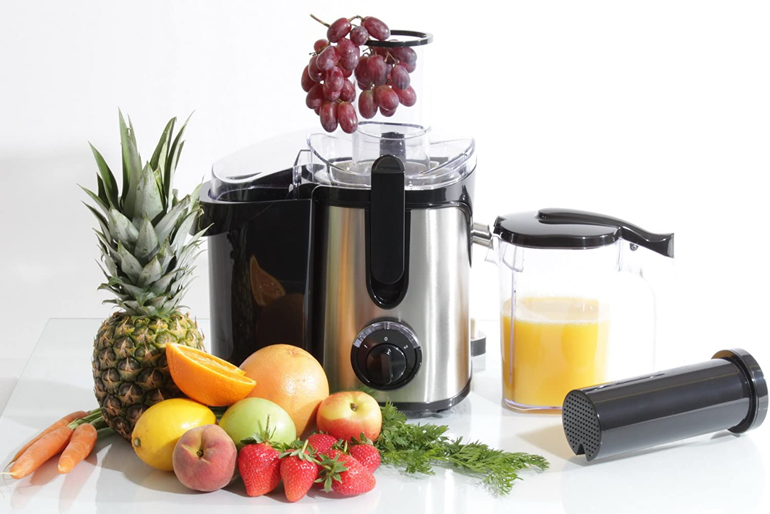 800W Stainless Steel Fruit Juicer 2l