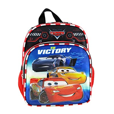 "Disney-Pixar - Cars 10"" Mini Backpack - Top Engine A16979 